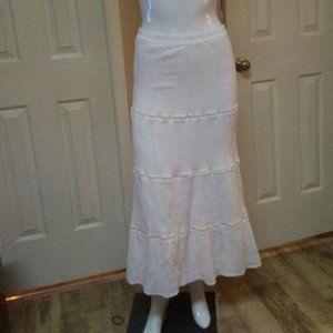 Old Navy Lined Boho Maxi Skirt